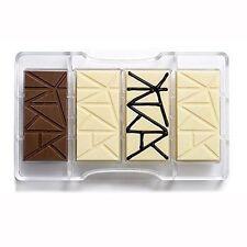 Stampo cioccolatini Decora cioccolatino tavoletta bar dolci policarbonato Rotex