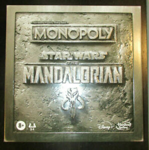 MONOPOLY STAR WARS THE MANDALORIAN EDITION IN STOCK