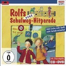 ROLF UND SEINE FREUNDE ZUCKOWSKI - ROLFS NEUE SCHULWEG-HITPARADE  CD + DVD NEU