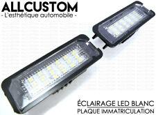 MODULES LED ECLAIRAGE BLANC XENON PLAQUE IMMATRICULATION pour VW GOLF 6 VI 08-12
