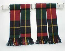 Per Kilt Lampeggia kilgour moderno Tartan con frange lana pettinata 4 Kilt highlandwear