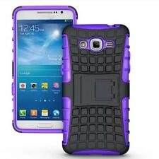 Rugged Armor Hybrid Stand Hard Case Cover For Samsung Galaxy Grand Prime G530