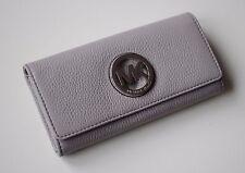 MICHAEL KORS Damen Geldbörse Portemonnaie FULTON FLAP CONTINENTAL  pearl grey