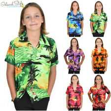Boys Hawaiian Shirts Casual Kids Party Clothing