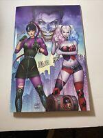 Harley Quinn #75 Kincaid & Szerdy Exclusive Virgin Cover D Punchline Joker