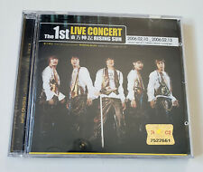 TVXQ DBSK Tohoshinki 1st Live Concert Rising Sun Korea Press 2CD Kpop
