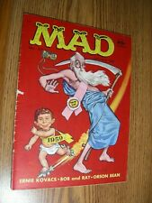 Mad Magazine #37 in G  Mad Zooms into 1957 with Alfred's Rocket Skates
