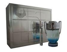 Paco rabanne Invictus Aqua eau de toilette EDT 100ml. & eau de toilette 10ml.