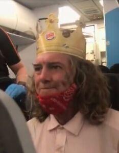 2 Burger King Company Paper Crowns