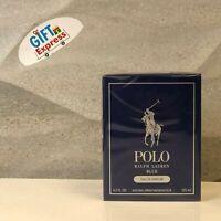 Polo Blue Eau De Parfum Spray 4.2 Oz / 125 Ml for Men by Ralph Lauren Brand New
