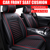 PU Leder Auto Sitzauflage Kissen Atmungsaktiv Kissen Sitz Pad Set Universal