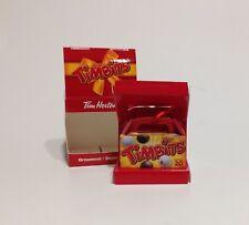 2014 TIM HORTONS Coffee Christmas Ornament ~ Box of TIMBITS ~ NIB