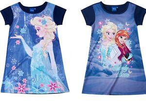 Children Dress Tunic Girl Frozen Ice Queen Purple 104 116 128 140 #810