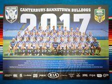 ✺New✺ 2017 CANTERBURY BULLDOGS NRL Poster - 42cm x 29.5cm