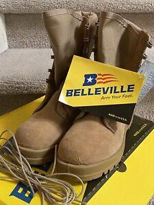 *NEW* BELLEVILLE 390 DES DESERT TAN HOT WEATHER COMBAT WOMENS BOOTS 8.0R