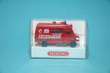 Wiking 60501 Mercedes Benz Pompier RETOUR AU TRAVAIL HO 1:87 NEUF