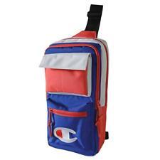 Brand New CHAMPION Multi Color Blue Pink Single Strap Crossbody Bag