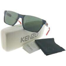aaf0e68820 KENZO Kz3174-c02-59 Unisex Rectangle Tortoise Blue and White Sunglasses