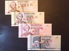 Transnistria specimen banknote collection