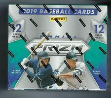 2019 Panini Prizm Baseball Factory Sealed Hobby Box 12 Packs 3 AUTOS