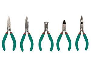 Velleman VTSETN Tool Set / 5 Piece Precision Plier Set