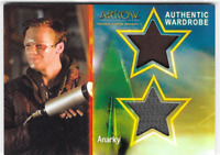 Cryptozoic Arrow Season 4 Dual Prop Relic Costume Card Anarky DM2