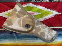 WWII USMC Paramarine Parachute Rigger Made Canvas 1911 Camouflage Pistol Holster