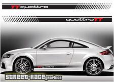 Audi TT 008 racing stripes graphics stickers decals RS quattro motorsport