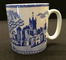 Spode Blue Room Collection GOTHIC CASTLE Porcelain 10 oz Mug Cup Made England