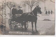 Vintage Postcard Archduchess Louise Crown Princess Saxony w Lover Andre Giron