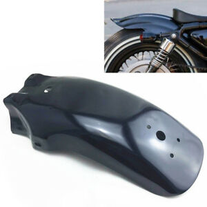 1PC Black Metal Motorcycle Rear Fender Mudguard Guard For Yamaha Triumph BMW