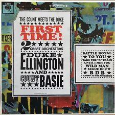 First Time! The Count Meets the Duke (Ellington / Count Basie) Vinyl LP 33T