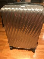 New TUMI 19 Degree Short Trip  & International  SET 2 Packing Case SILVER