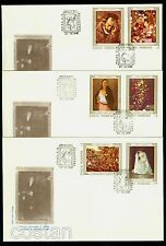 1990 Brueghel,Madonna,Paggi,Paintings Damaged in Revolution,Romania,Mi.4622,FDC