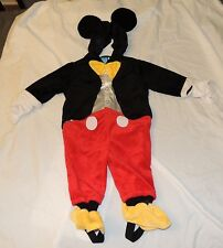 New Disney Baby Mickey Mouse Costume Sizes 6-9 Month Dress Up One Piece