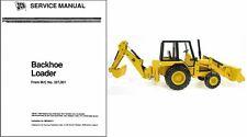 JCB 214 3CX 1400B Backhoe Loader Service Repair Workshop Manual CD