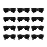 36pk BLACK CLASSIC 80s KIDS Sunglasses Party Props Birthday Favors LOT