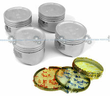 NEW PISTON KIT! FITS HYUNDAI SONATA/SANTA FE 2.4L DOHC 16 VALVE ENGINE CODE G4JS