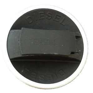 Replacement commercial fuel cap, 60mm, plastic screw locking, steel band SCANIA