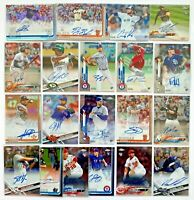 (20+) Mostly 2019 Topps Chrome Autograph Rookie RC Auto Refractor Lot SP /499
