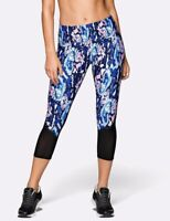 NWT $98 Lorna Jane Size XS Marble Core Stability 7/8 Tight