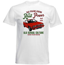 VINTAGE ITALIAN ALFA ROMEO ALFASUD SPRINT CAR - NEW COTTON T-SHIRT