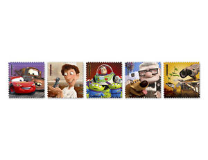 US #4553-57 Disney Pixar Films 2011 - 44¢ Mint Sheet