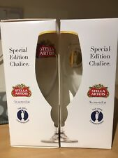 Stella Artois Chalice 2 pack of The Open Championship Special Edition Glasses
