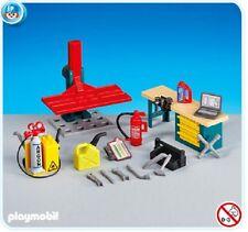 Playmobil Motorcycle Workshop Interior 6225 NEW Add-On mini diorama toy 173