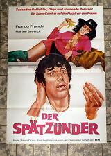 DER SPÄTZÜNDER * BESWICK, FRANCHI - A1-FILMPOSTER - German 1-Sheet 1976