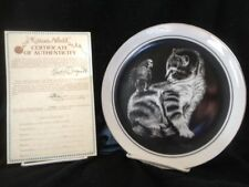 Kitten's World '79 6 Plates Box Certificates Droguett Royal Cornwall Vintage