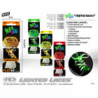 Roller Derby Lighted Shoe Laces - LED Skate Lace