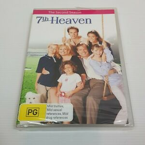 7TH HEAVEN The Complete Season 2 DVD (6 Disc Set) NEW + SEALED R4