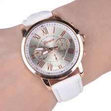 Ladies Fashion Geneva Platinum Rose Gold Quartz Wrist Watch. (Aussie Seller)